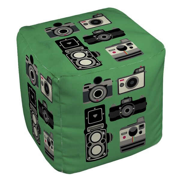Cameras Pouf by Manual Woodworkers & Weavers