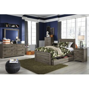 aleah storage trundle panel bedroom set - Kids Bedroom Sets Under 500