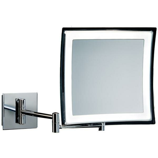 Spaulding LED Makeup/Shaving Mirror by Orren Ellis