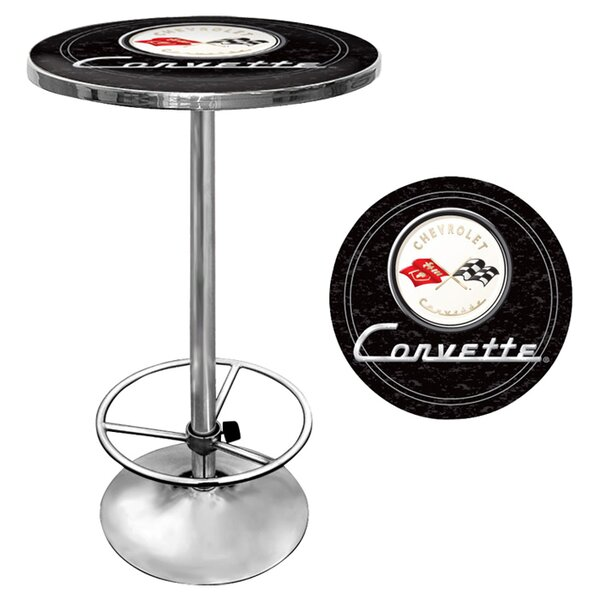 Corvette C1 Pub Table by Trademark Global