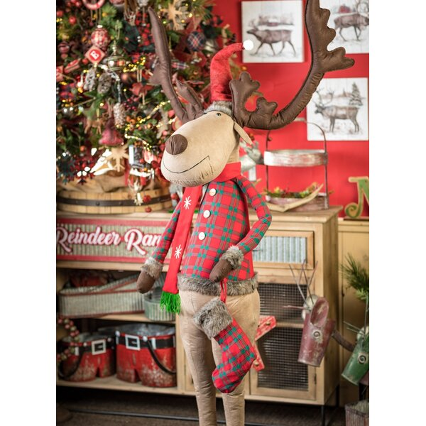 Reindeer Ranch Standing Figurine by The Holiday Aisle