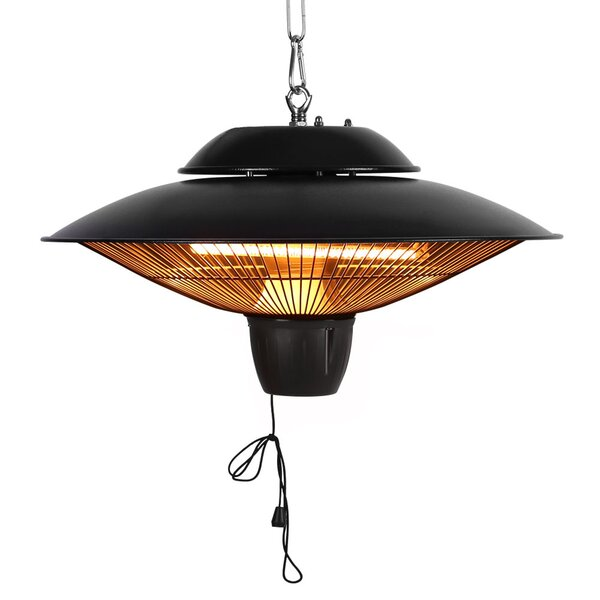 1500W Electric Hanging Patio Heater By Star Patio