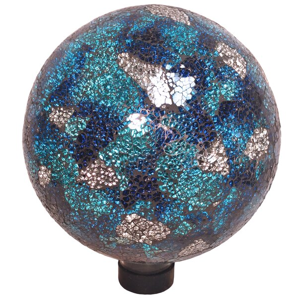 Neely Mosaic Gazing Globe by World Menagerie