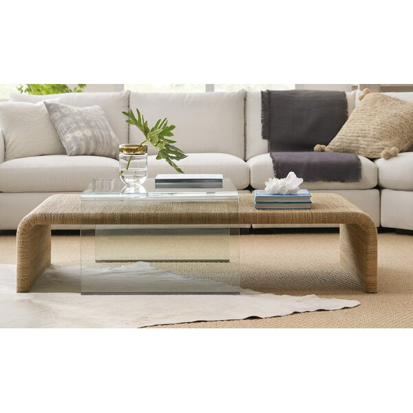 Amani Coffee Table With Tray Top By Hooker Furniture