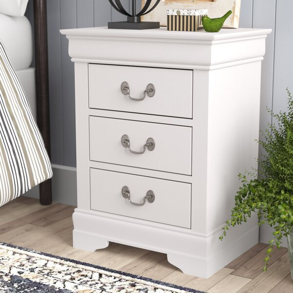 Review Babcock 3 Drawer Nightstand