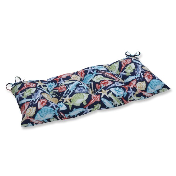 Keyisle Regata Indoor/Outdoor Bench Cushion by Pillow Perfect
