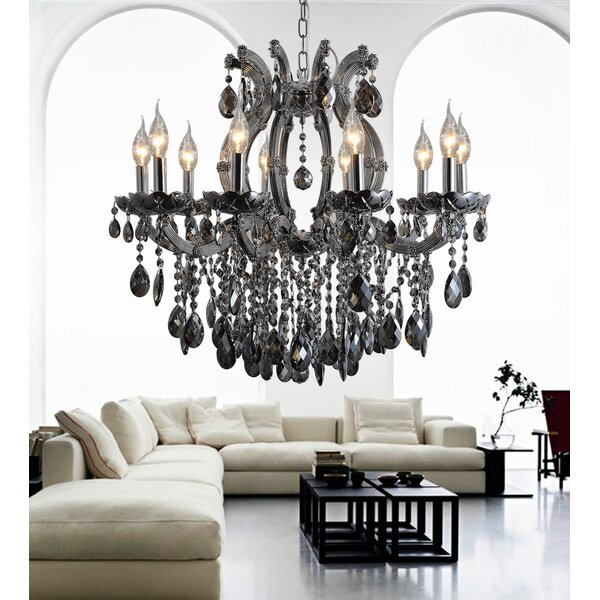 Sikorski 10 - Light Candle Style Classic / Traditional Chandelier By House Of Hampton