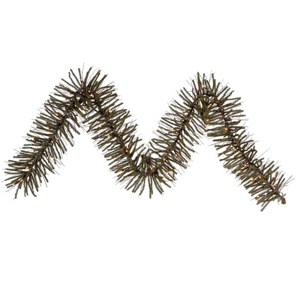 Vienna Twig Artificial Christmas Garland with Lights by Vickerman