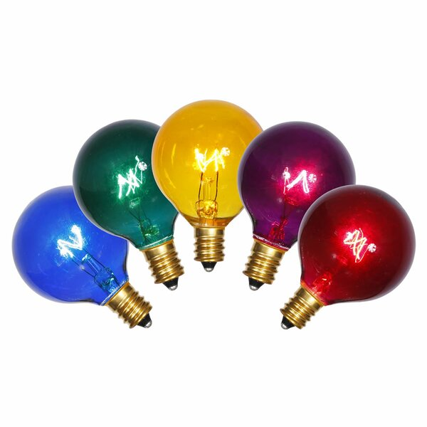 5 Piece E12 Light Bulb Set by The Holiday Aisle