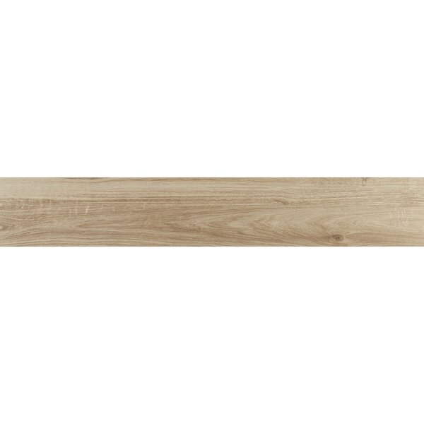 Hereford 6 x 36 Porcelain Wood Look Tile in Oak Trail by Itona Tile