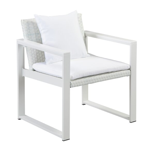 Chstr Deep Seating Chair with Cushions by Rosecliff Heights