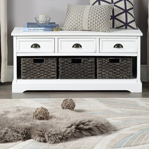Niverville Drawer Storage Bench by Gracie Oaks Gracie Oaks
