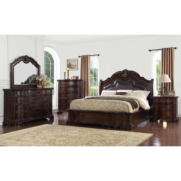Shea upholstered Panel Configurable Bedroom Set by Astoria Grand