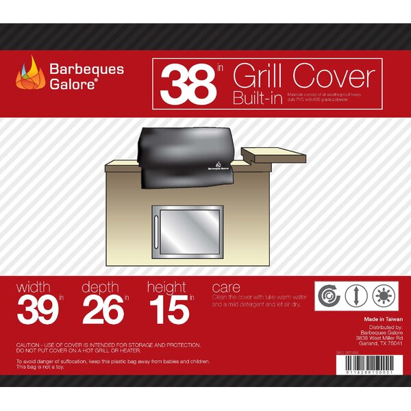 Grand Turbo Grill Cover - Fits up to 42 by Barbeques Galore
