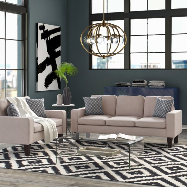 Bibbs 2 Piece Living Room Set by Mercury Row