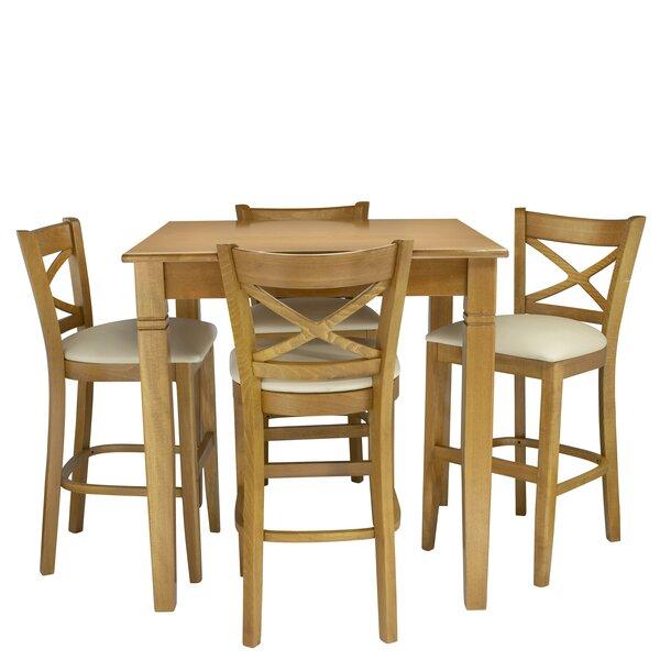 Weissman 5 Piece Pub Table Set by Red Barrel Studio Red Barrel Studio