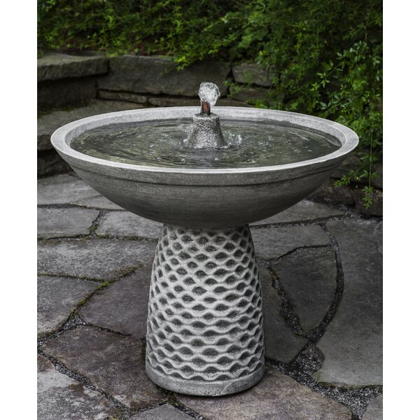 Concrete Pina Fountain by Campania International