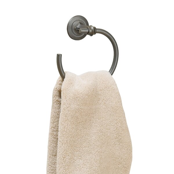 Rook Wall Mounted Towel Ring by Hubbardton Forge