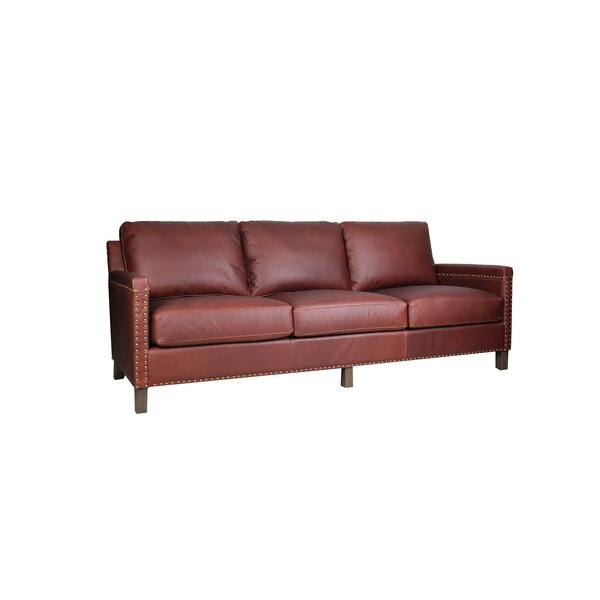 Nailsea Leather Sofa by Darby Home Co