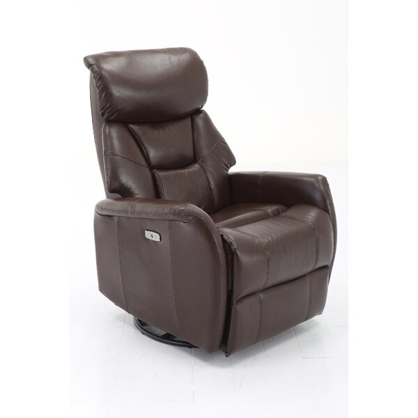 Grip Power Swivel Recliner by Red Barrel Studio