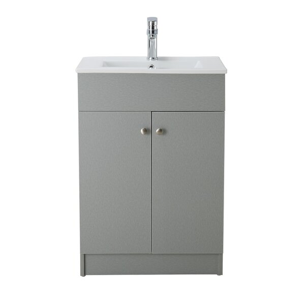 Usry 24 Single Bathroom Vanity Set by Mercury Row