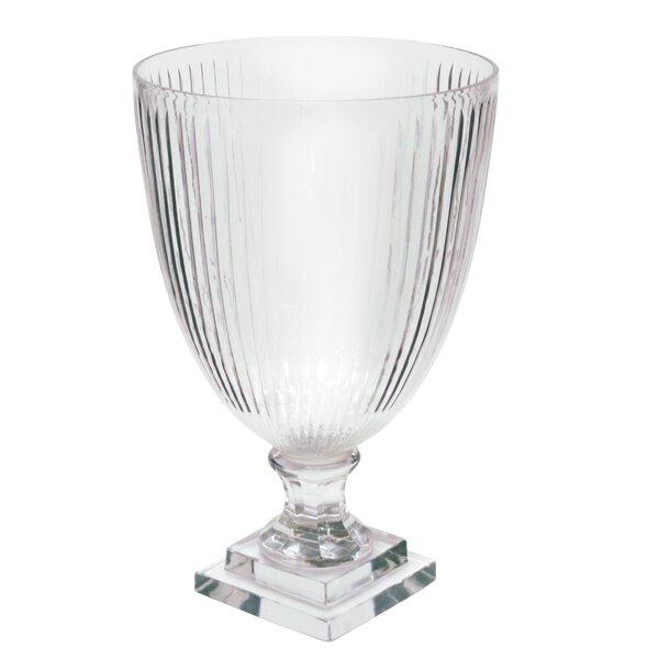 Jiron Stripe Cut Table Vase by Alcott Hill