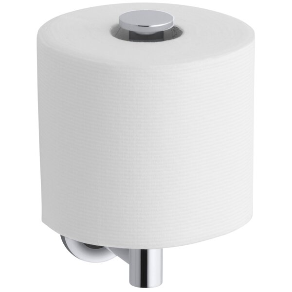 Purist Vertical Toilet Tissue Holder by Kohler