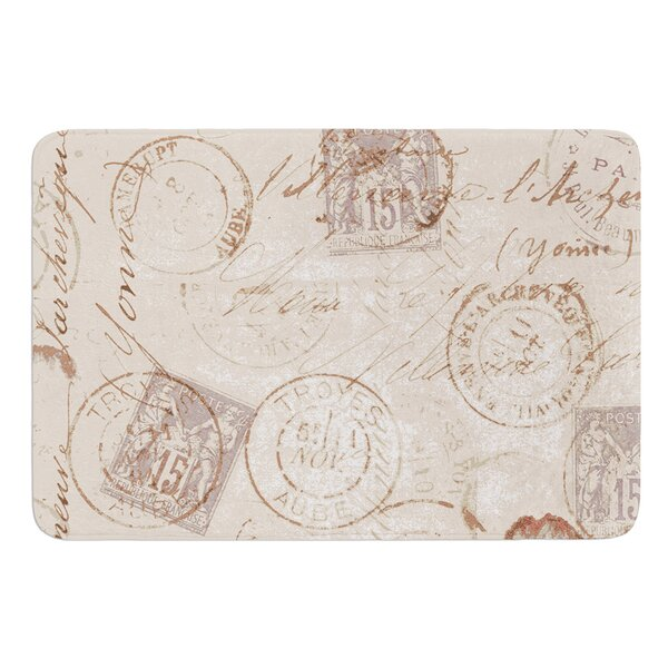 World Traveler by Heidi Jennings Bath Mat by East Urban Home