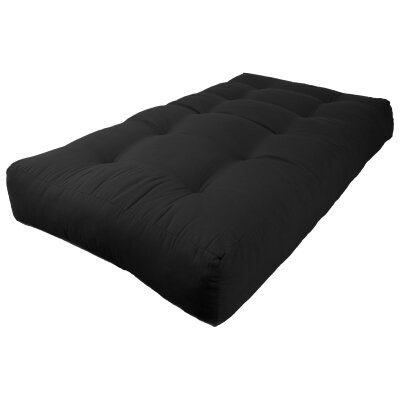 Vitality Solid 7 Foam Twin Size Futon Mattress by Blazing Needles