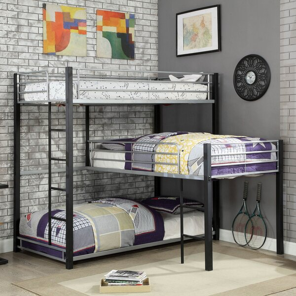 Fairfax Twin Triple Bunk Bed By Harriet Bee by Harriet Bee Cheap