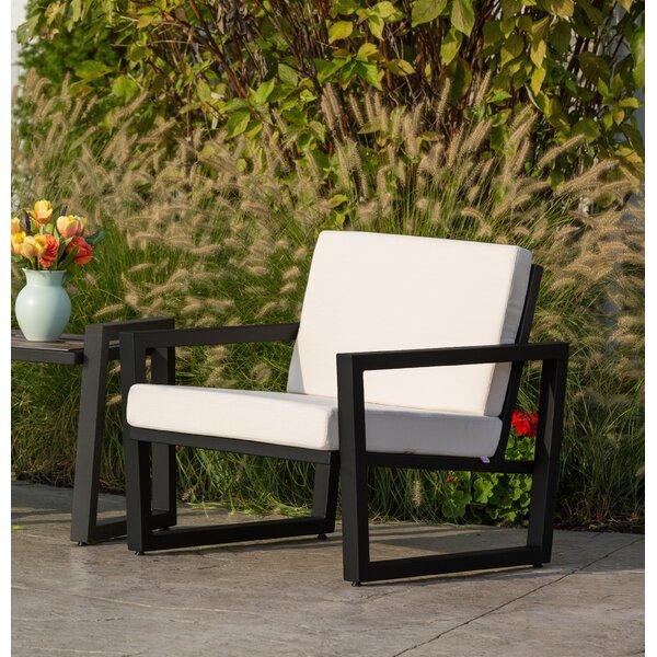 Waubun Patio Chair with Sunbrella Cushions by Brayden Studio Brayden Studio