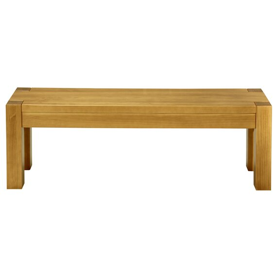 Yessenia Wood Bench By Millwood Pines