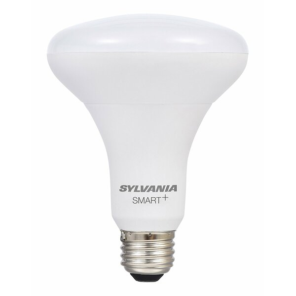 11 Watt (65 Watt Equivalent), BR30 LED Smart Light Bulb, Warm White (3000K) E26/Medium (Standard) Base by Sylvania SMART+