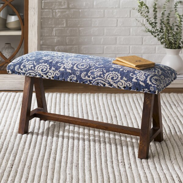 Carlea Upholstered Bench by August Grove