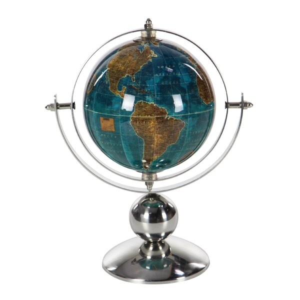 Glam Stainless Steel Globe by Charlton Home