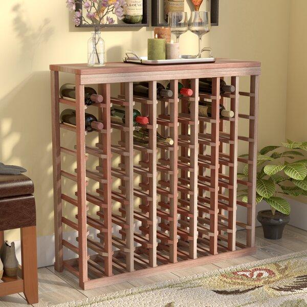 Karnes 64 Bottle Floor Wine Bottle Rack by Red Barrel Studio Red Barrel Studio