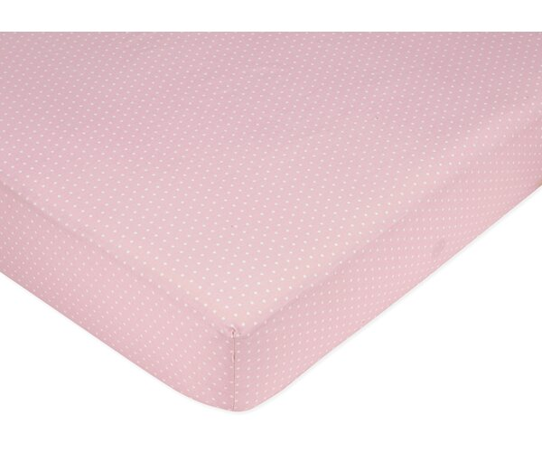 Mod Dots Mini Fitted Crib Sheet by Sweet Jojo Designs