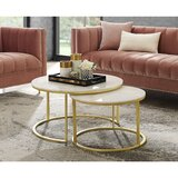 Kayson Round 2 Piece Coffee Table Set by Everly Quinn