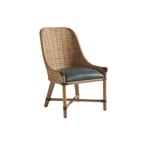 Los Altos Keeling Woven Solid Wood Dining Chair By Tommy Bahama Home