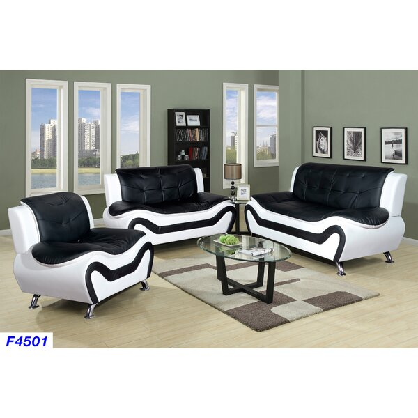 Galewood 3 Piece Living Room Set by Orren Ellis