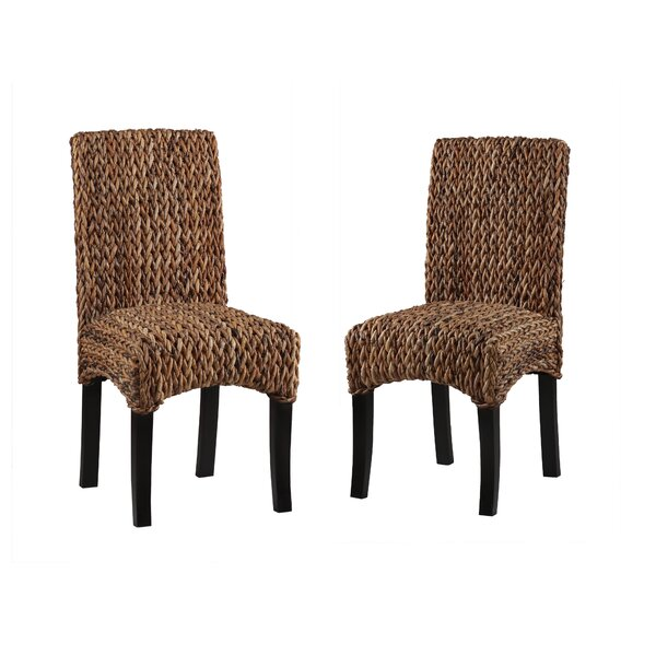 Gisselle Banana Weave Dining Chair (Set of 2) by Bay Isle Home