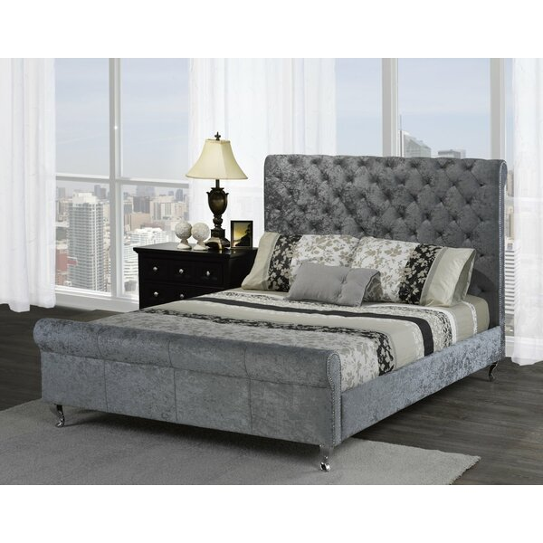 Lunde Queen Sleigh Bed by House of Hampton