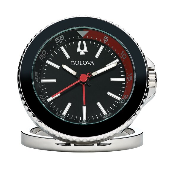 Diver Desktop Clock by Bulova