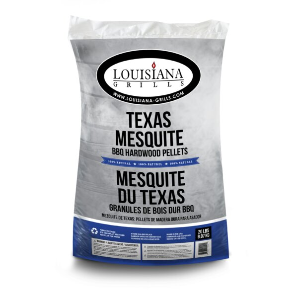 All Natural Hardwood Pellets - Texas Mesquite by Louisiana Grills