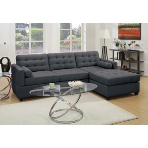 Beverly Reversible Modular Sectional  sc 1 st  Wayfair.com : modular sofa with chaise - Sectionals, Sofas & Couches