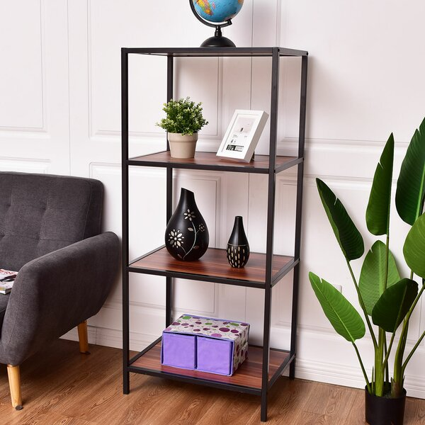 Hammonds 4 Tier Etagere Bookcase by Williston Forge