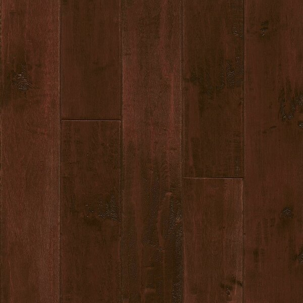 American 5 Solid Maple Hardwood Flooring in Cranberry Woods by Armstrong Flooring