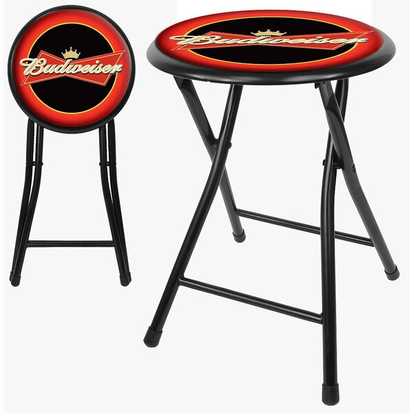 Budweiser 18 Bar Stool by Trademark Global