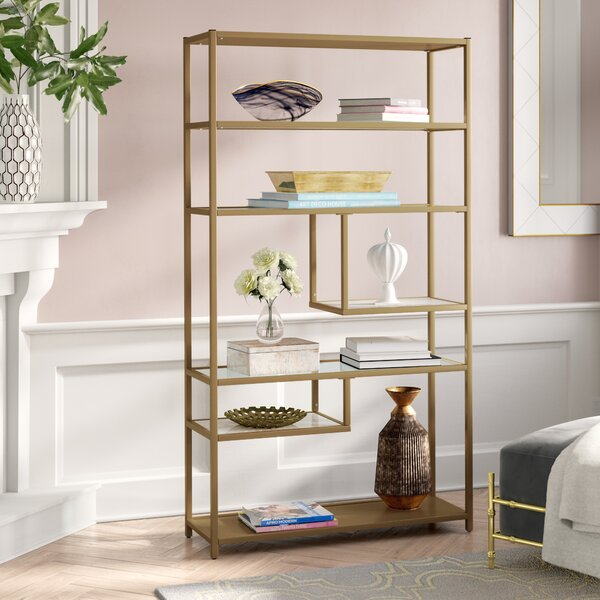 Selzer Geometric Etagere Bookcase by Mercer41