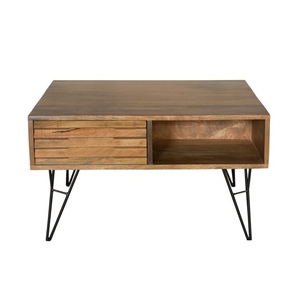 Boon Shutter Coffee Table with Storage by Foundry Select